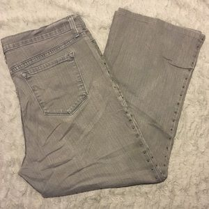 NYDJ gray jeans size 18
